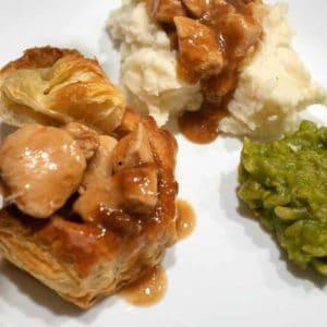 Chicken Vol-au-Vents