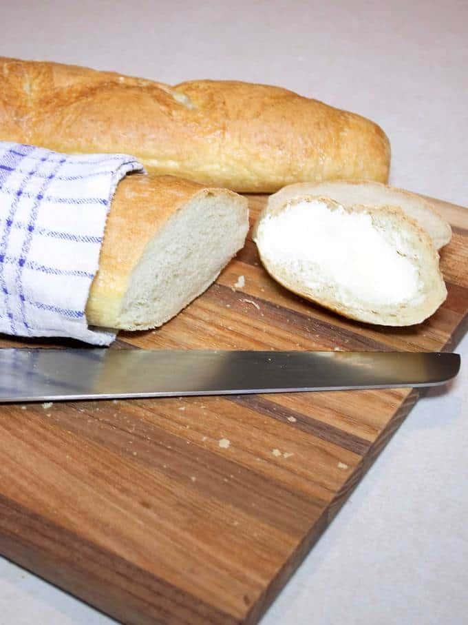 Sour Dough Baguettes