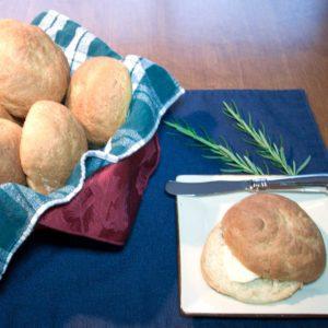 Oat Rolls (Bread Machine)