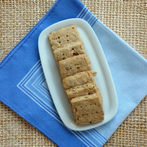 Oatmeal-Spice Shortbread