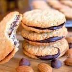 Almond and Chocolate Sandwich Cookie
