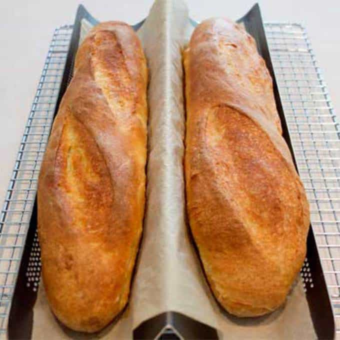 Perfectly baked French Bread