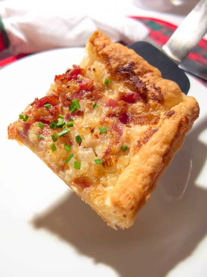 Tarte Flambée is to northern Alsace what pizza is to southern Italy