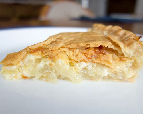 how to make onion pie