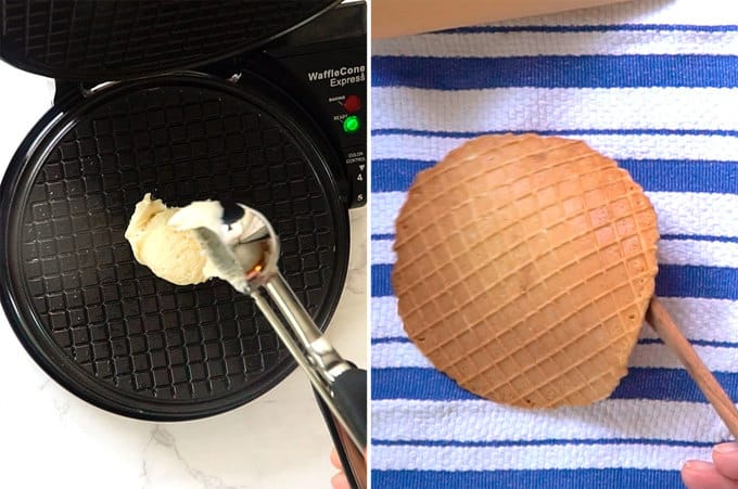 Making Waffle for the Cone