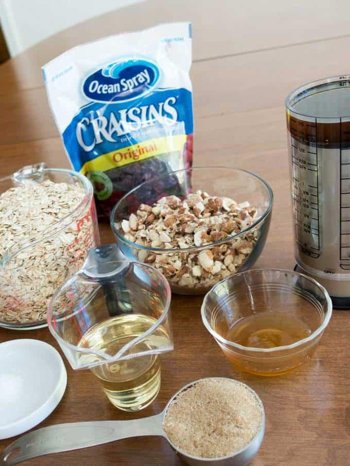 Almond Craisin Granola