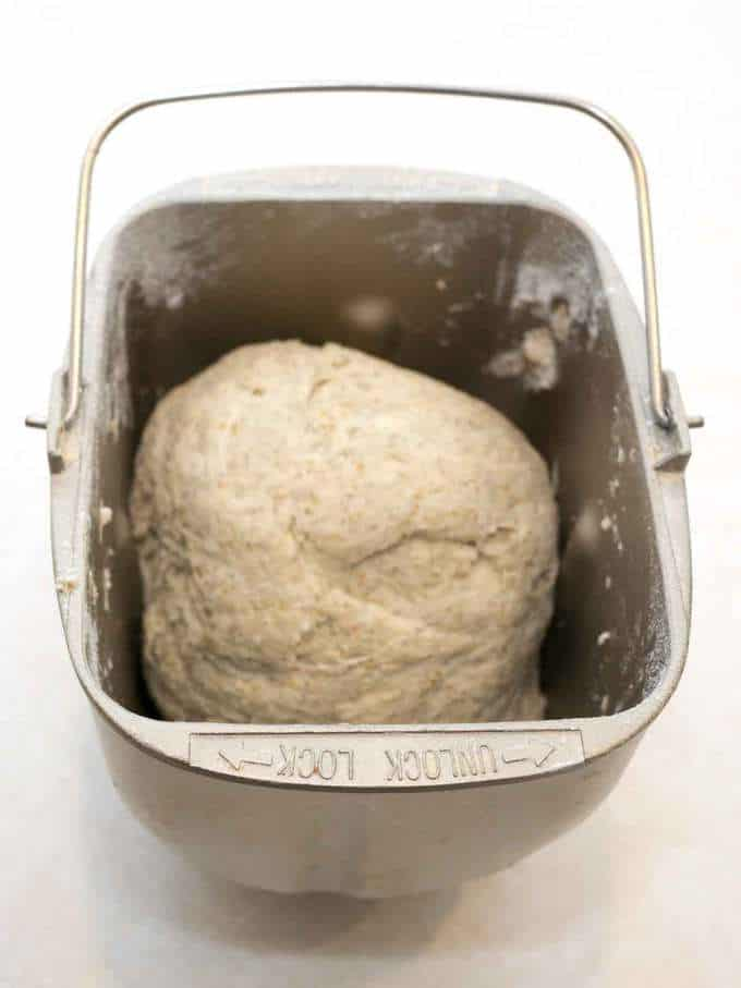 Dough in Bread Pan