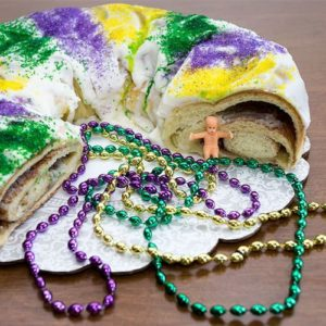 Mardi Gras King Cake (Bread Machine)