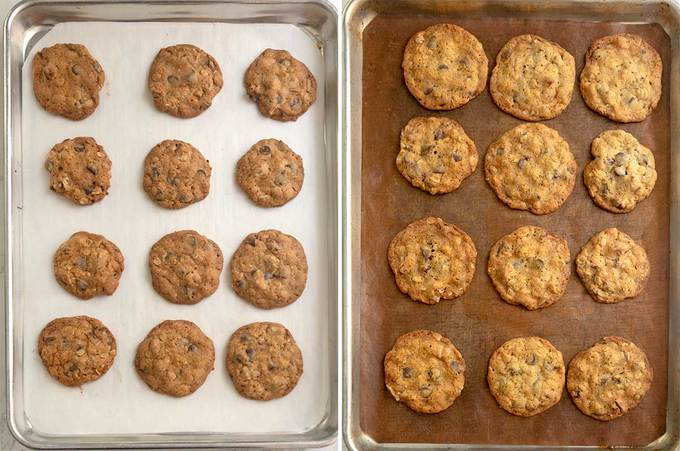 Impact of Different Parchment Paper on Cookies