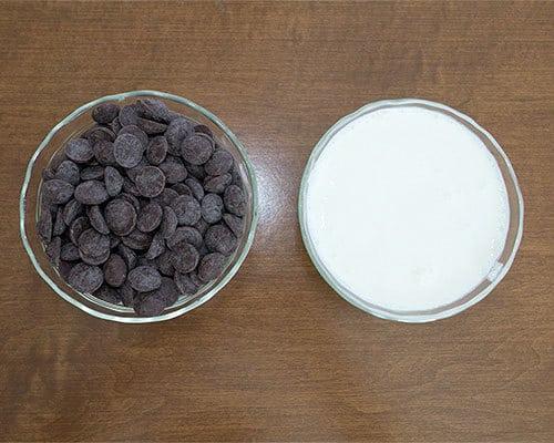 Chocolate Ganache Ingredients