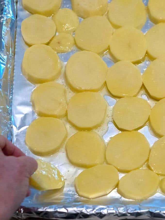 Spreading Potatoes
