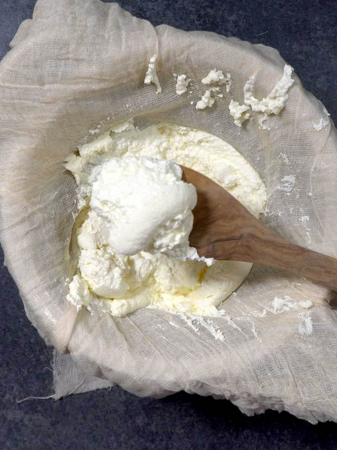 Ricotta Cheese Curds