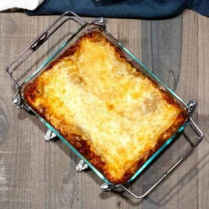 Yummy Lasagna out of Oven