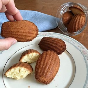 Madeleines à la Julia Child