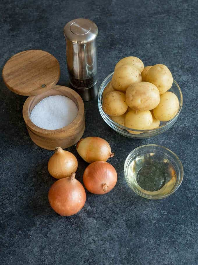 Ingredients for Roasted Potatoes