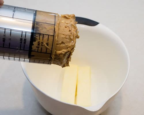 Combining butter and peanut butter