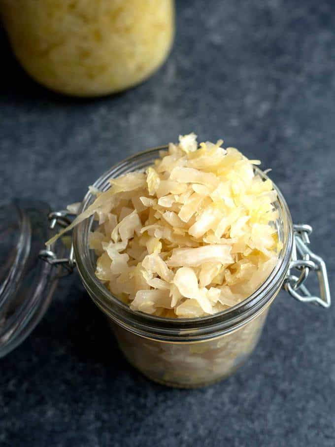 Homemade Sauerkraut