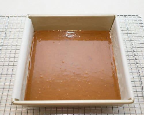 Caramel cooling