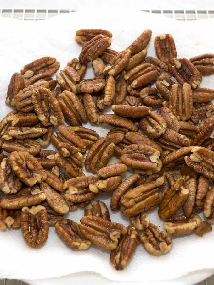 Chocolate Covered Roasted Pecans - The Pudge Factor