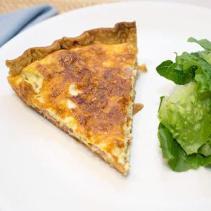 Ham and Gruyère Quiche