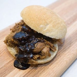 Slow Cooker Pulled Pork with Balsamic  Barbecue Sauce