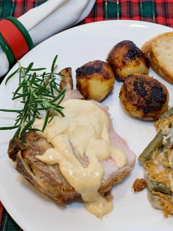 Crown Roast of Pork is an elegant entrée for your special Christmas dinner.
