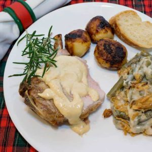 Crown Roast of Pork is an elegant entrée for your special Christmas dinner.