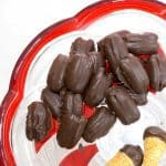 Chocolate Covered Roasted Pecans - Eat them as a snack, or give them as a holiday gift.
