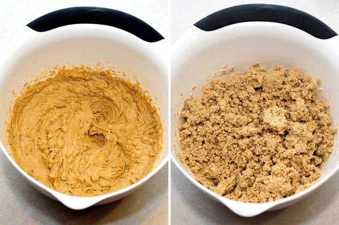 mixture ingredients combined