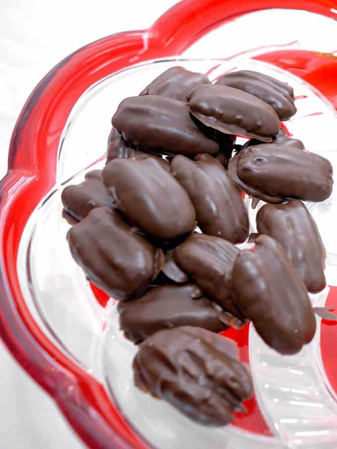Chocolate Covered Toasted Pecans