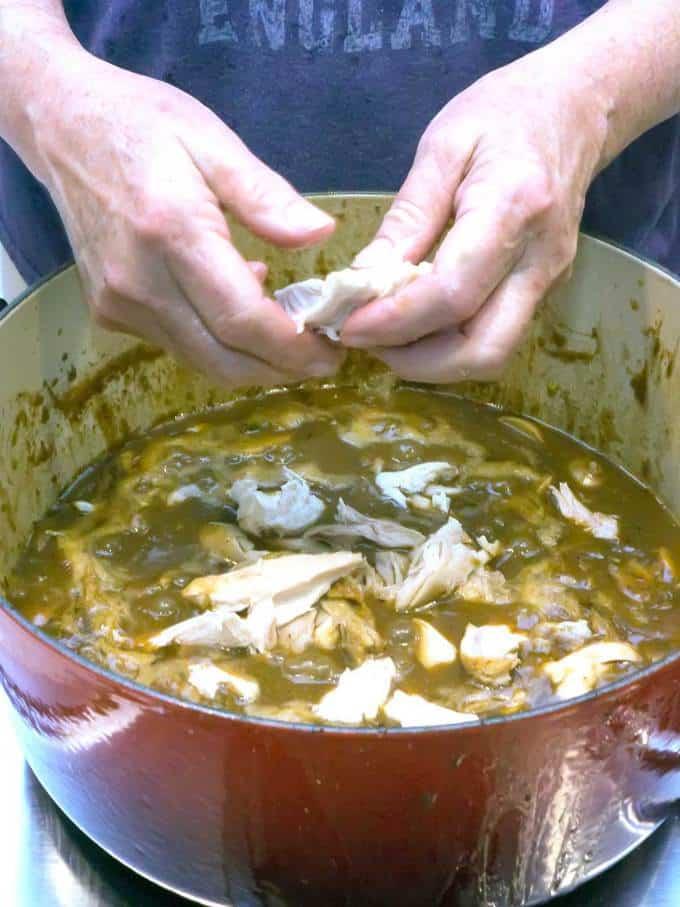 Cajun Chicken Fricassee