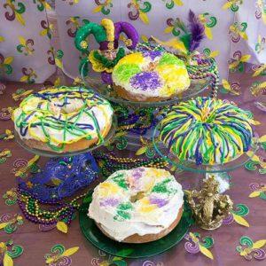 Mini-King Cakes