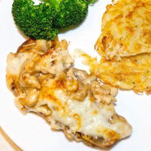 Chicken and Mushroom Roulades à la Julia Child