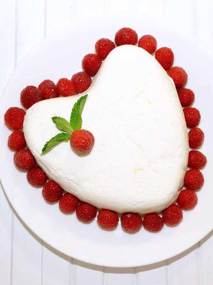 Coeur a la Creme for Valentines Day