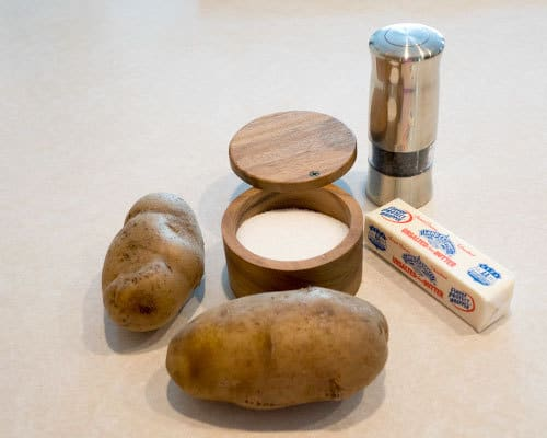 Ingredients for Potato Galettes