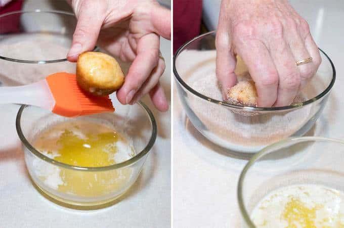 Doughnut Mini Muffins