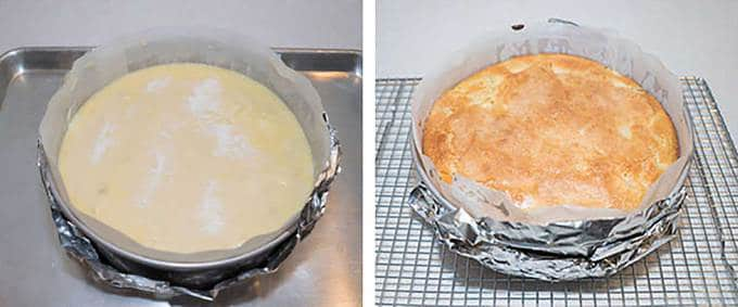 A French Classic that is a combination of cake, custard and clafouti.