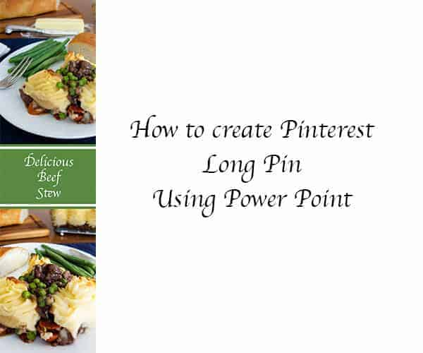 How to Create Pinterest Long Pin Using Power Point