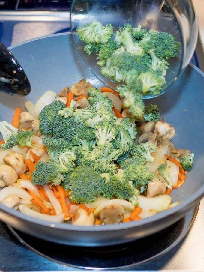 Adding Broccoli