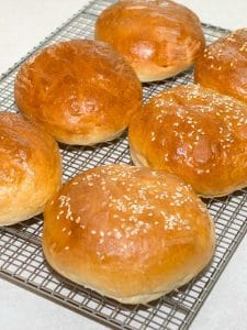 Homemade Hamburger Buns (Bread Machine)
