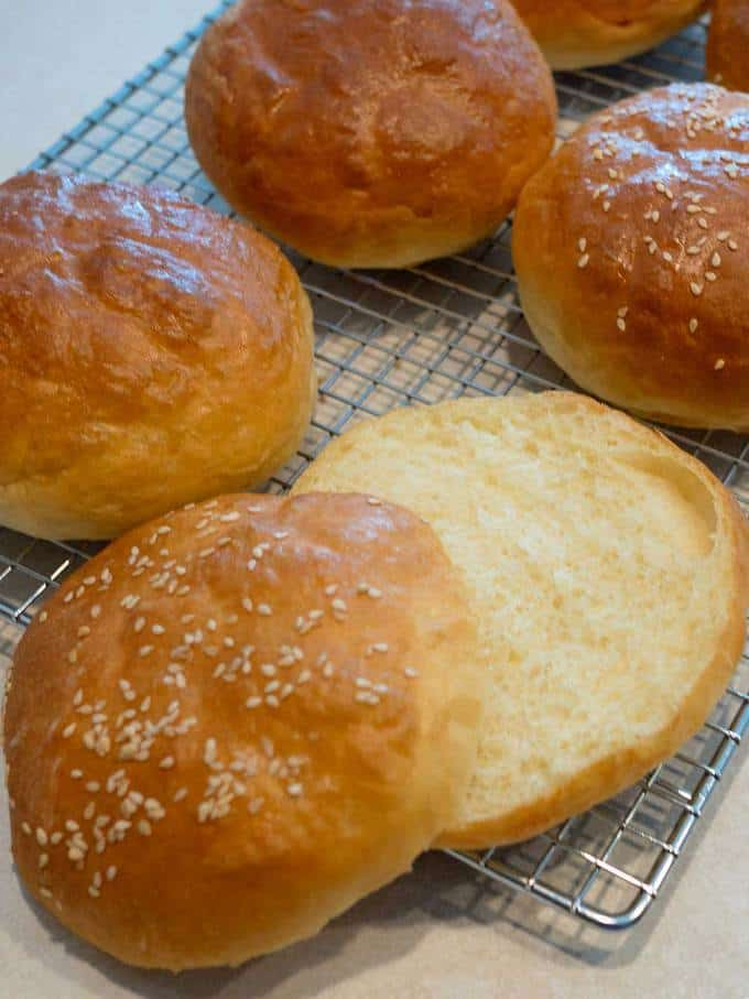 If you're looking for the ultimate hamburger bun, look no further.