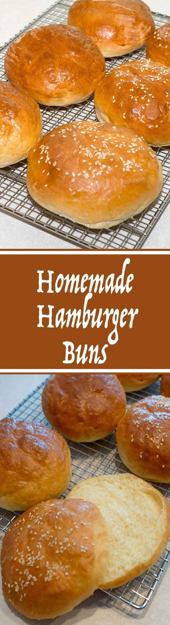 Look no further for the ultimate hamburger bun. These Homemade Hamburger Buns are not only quick and easy to make, but also light and fluffy.