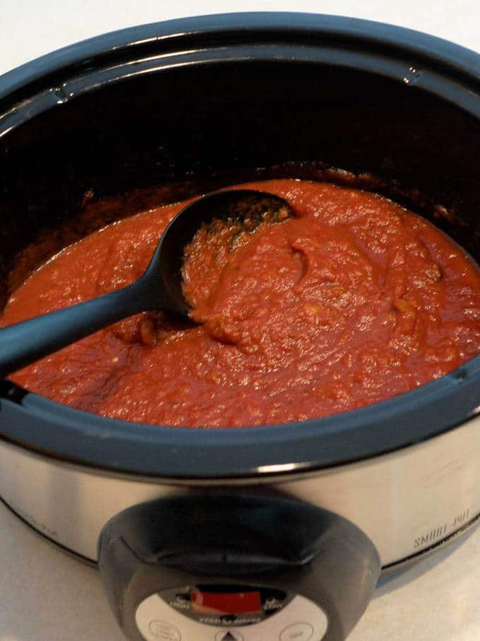 Homemade Marinara sauce is immeasurably better than store-bought. It is easy to make, quite versatile, and freezes beautifully.