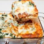 Rich and flavorful, this Spinach and Mushroom Lasagna is comfort food at its best.