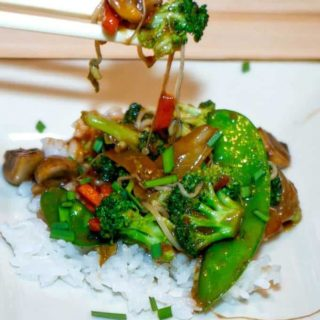 """Quick, full of flavor, and enhanced with the """"secret"""" stir fry sauce."""