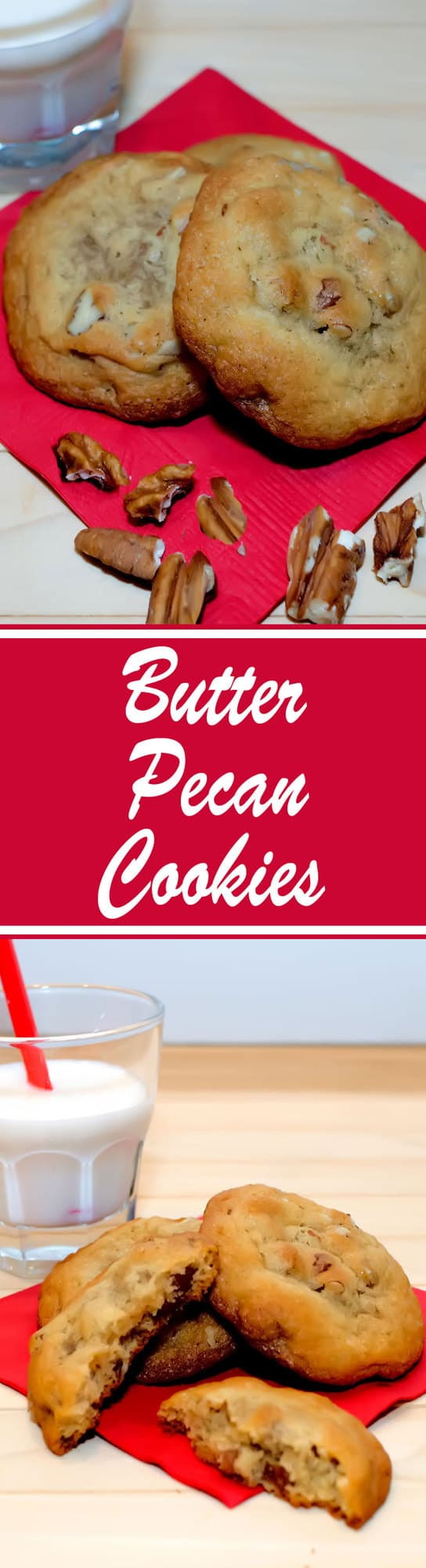 Crispy on the outside and soft in the center, these cookies are buttery rich and intensely flavored with toasted pecans.