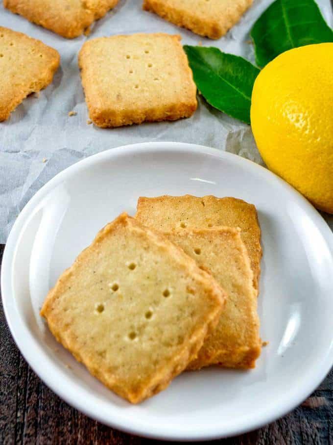 Buttery Rich with subtle lemon undertones.