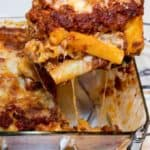 All of the goodness of a classic lasagna, but without the fuss.
