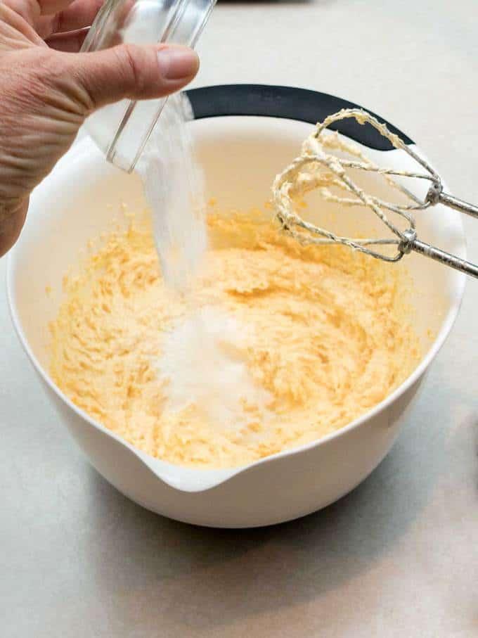 Adding_Baking_Powder to Southern Cheese Straws