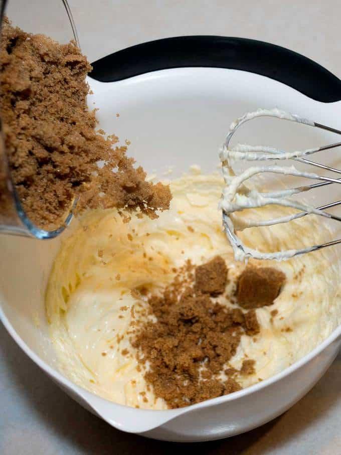 Adding brown sugar